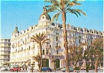 Click here to enlarge image and see more about item p0067: Hotel  Ruhl Nice France Postcard p0067
