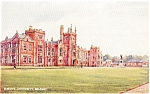 Queen s University Belfast Northern Ireland Postcard p0071