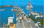Click here to enlarge image and see more about item p0100: Inlet Pier Atlantic City Postcard p0100