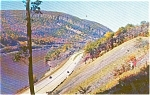 Delaware Water Gap Autumn NJ Postcard