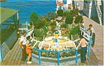 Click here to enlarge image and see more about item p0163: Wishing Well at Inlet Fishing Pier Postcard