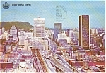 Click here to enlarge image and see more about item p0187: Montreal Bonaventure Autoroute  Postcard