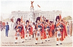 Click here to enlarge image and see more about item p0237: The Scots Guards  Egland Postcard p0237
