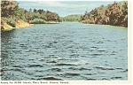 Click here to enlarge image and see more about item p0248: Islands in Parry Sound Ontario Postcard
