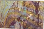 Click here to enlarge image and see more about item p0375: Bristol Caverns Wishing Rock Postcard p0375