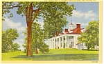 East View of Mount Vernon VA Postcard