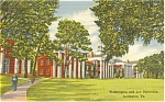 Washington and Lee University VA Postcard p0389