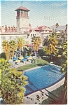 Click here to enlarge image and see more about item p0391: Mission Inn Riverside CA Postcard p0391