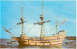Mayflower II at Anchor  Postcard p0451
