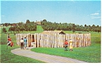 Fort Necessity Uniontown PA Postcard
