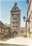 Click here to enlarge image and see more about item p0509: French Postcard Riquewihr