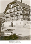 Click here to enlarge image and see more about item p0512: Gasthof Schafle Austria Postcard