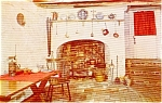 Click here to enlarge image and see more about item p0518: Betsy Ross House Philadelphia PA Postcard p0518