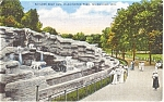 Click here to enlarge image and see more about item p0569: Barless Bear Den Milwaukee WI  Postcard p0569
