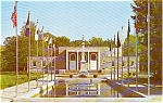 Memorial Building Washington Crossing PA Card