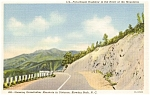 Click here to enlarge image and see more about item p0624: Blowing Rock NC Postcard