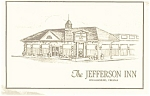 Jefferson Inn Williamsburg VA Postcard