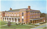 Hood College Gymnasium Frederick MD Postcard p0672