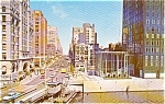 Wisconsin Ave Milwaukee WI Postcard