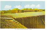 Click here to enlarge image and see more about item p0698: Fort George Niagara on the Lake Ontario Canada Postcard p0698