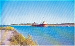 Click here to enlarge image and see more about item p0703: Wiley Dondero Canal Canada Postcard
