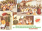 Click here to enlarge image and see more about item p0717: Steirerherzen Z'Graz Austria  Postcard