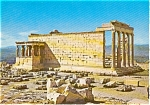 Click here to enlarge image and see more about item p0773: The Erechtheion Athens Greece Postcard p0773