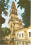 Cordoba Spain Cathedral Postcard p0778