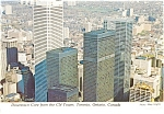 Click here to enlarge image and see more about item p0779: Downtown Toronto Canada Postcard