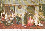 Click here to enlarge image and see more about item p0782: Painting of King Christian IX Postcard
