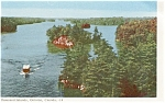 Click here to enlarge image and see more about item p0793: Thousand Islands Canada Postcard