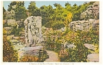 Click here to enlarge image and see more about item p0796: Rock Garden Hamilton Canada Postcard p0796