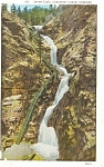 Click here to enlarge image and see more about item p0821: Seven Falls Cheyenne Canon CO Postcard p0821