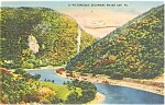 Picturesque Delaware Water Gap Postcard