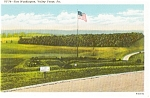 Click here to enlarge image and see more about item p0835: Ft Washington  Valley Forge PA Postcard p0835