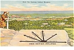Click here to enlarge image and see more about item p0861: Rock City Gardens Lookout Mt Postcard