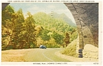 Click here to enlarge image and see more about item p0864: Chimney Tops Great Smokey Mountains TN Postcard p0864