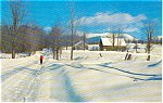 Morrisville PA Winter Country Postcard p0877