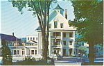 Thayers Hotel Littleton NH Postcard p0894