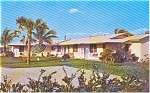 Click here to enlarge image and see more about item p0907: C Breeze Apts Sarasota FL Postcard p0907