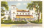 Ozark Baths Postcard 1938