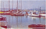 Click here to enlarge image and see more about item p0935: Lake Washington Marina WA Postcard