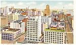 Seattle Business District Postcard