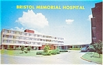 Bristol Memorial Hospital TN Postcard