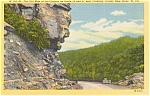 Click here to enlarge image and see more about item p0966: Old Man of the Canyon New River WV Postcard