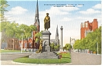 Click here to enlarge image and see more about item p0971: Milwaukee WI Court of Honor Postcard p0971