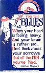 For The Blues Postcard 1911