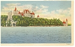 Boldt Castle Thousand Islands NY Postcard  p10142 1938