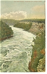 The Great Gorge Niagara Falls NY Postcard p10143  1908