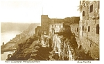 Click here to enlarge image and see more about item p10149: Koln Germany Ruins of Castle Rheinfels Postcard p10149